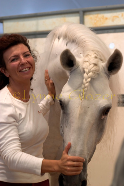 Magali Delgado will tell you proudly that her parents, Pierre and Joëlle Delgado, have dedicated their lives to raising these intelligent, sensitive Lusitano horses that show a rare willingness to connect with and engage with humans.