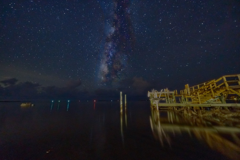 Cedar Key Milky Way