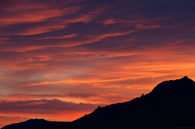 Boulder Sunset II