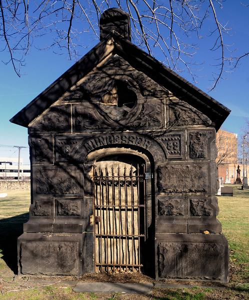 Erie Street Cemetery in Cleveland, Ohio