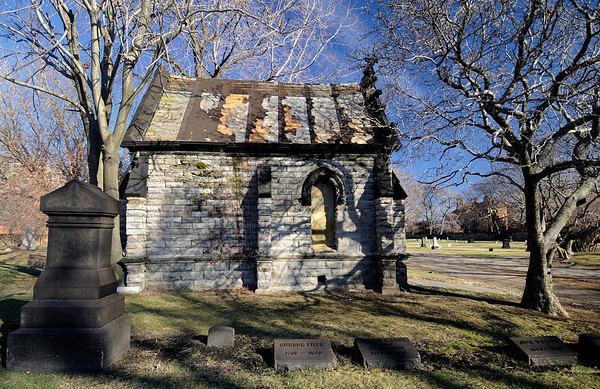 Erie Street Cemetery in Cleveland, Ohio