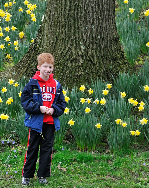 This guy is gonna be a Nikon photographer someday, just like his dad, Doug. - Lake View March 2012