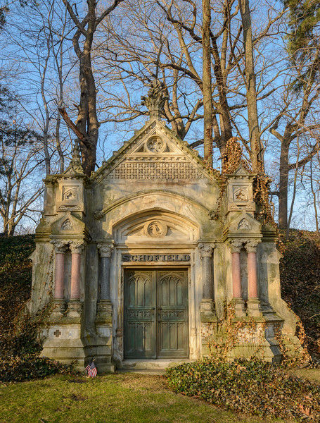 Crypts at Lake View Cemetery