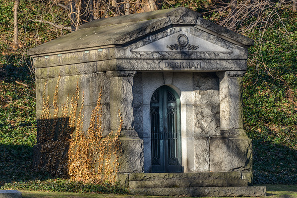 Lake View Cemetery in the Spring