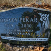Harvey Pekar's grave at Lake View Cemetery