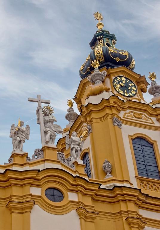 Melk Abbey clock