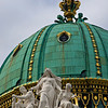 Dome of Hofburg Palace, St. Michael's gate, Vienna, Austria