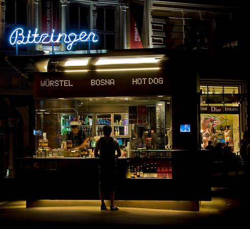 Vienna Hot Dog Stand, Vienna, Austria