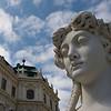 Belvedere Gardens, Vienna, Austria
