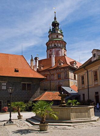 Cÿesky« Krumlov Castle in the Czech Republic