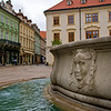 In Old Town, Bratislava, the capital of Slovakia.