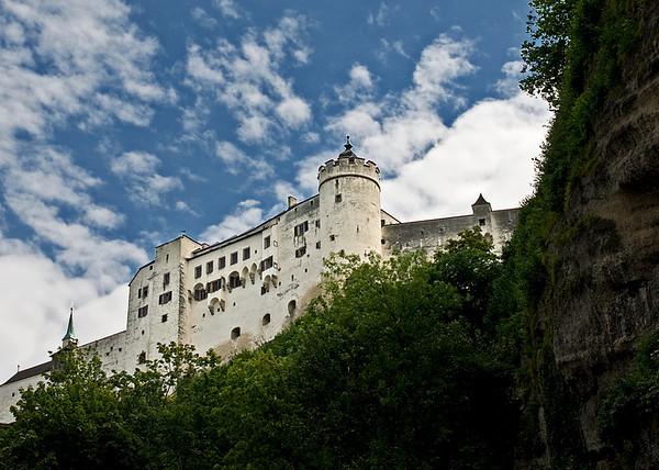 Hohensalzburg Castle Fortress<br /> Salzburg, Austria