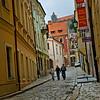 A street in Bratislava, Slovakia