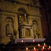 The Esztergom Basilica altar, Danube Bend, Hungary.
