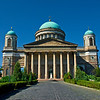 The Basilica of Esztergom is the largest church in Hungary.