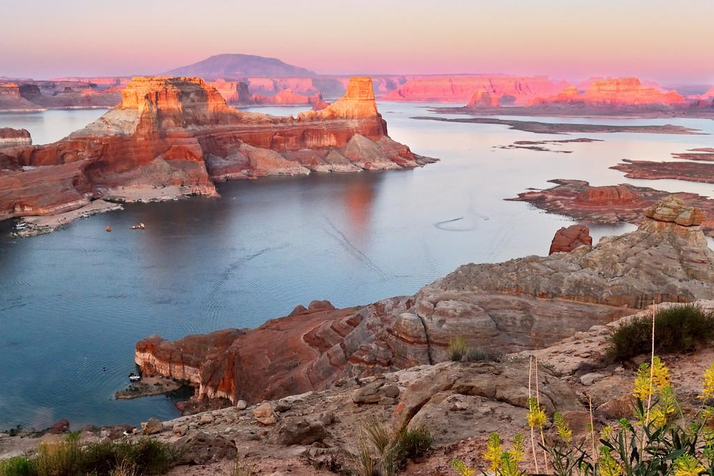 Desert Sunset Lake Powell