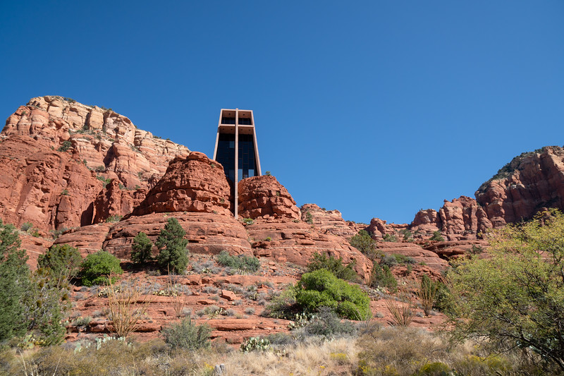 The Chapel of the Holy Cross, Sedona, AZ