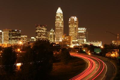 Charlotte NC. skyline (2007)