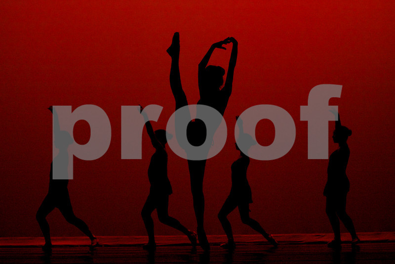 ballerinas in silhouette