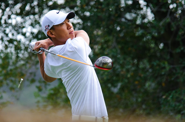 Anthony Kim aka AK at Chevron World Challenge in Sherwood Country Club