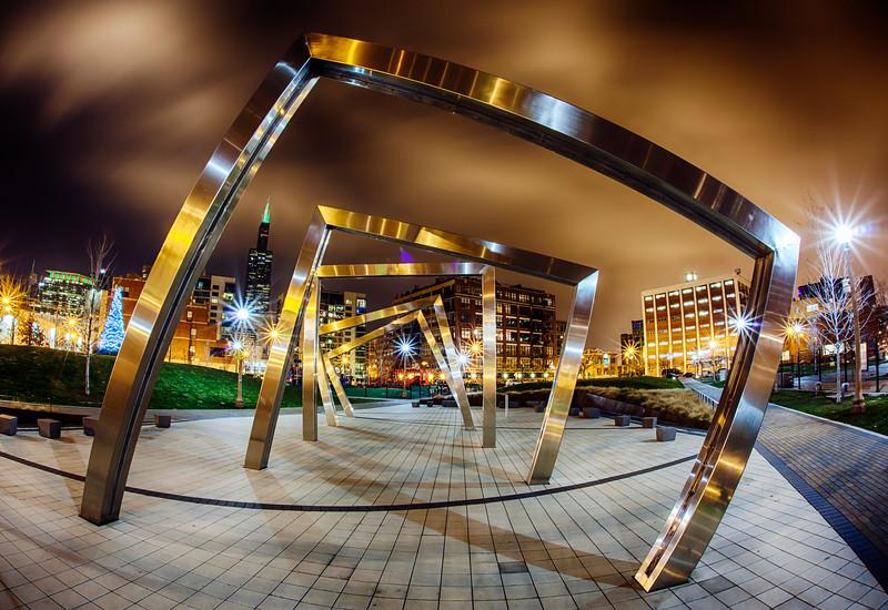 Chicago Through the Vortex