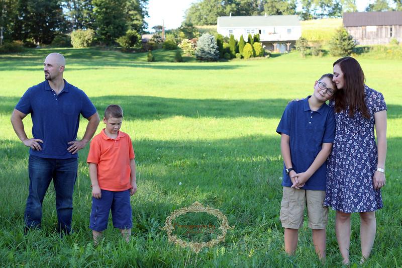 Family Portrait - Photography by Jennifer Star