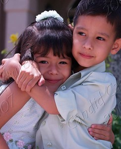 Katelyn & Giovanni 4 years of age