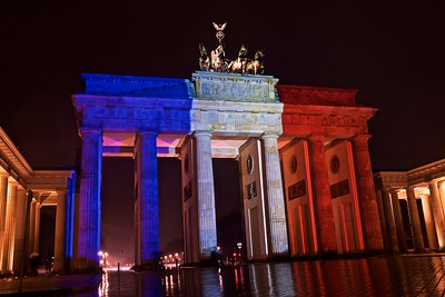 The Brandenburger Tor, Berlin