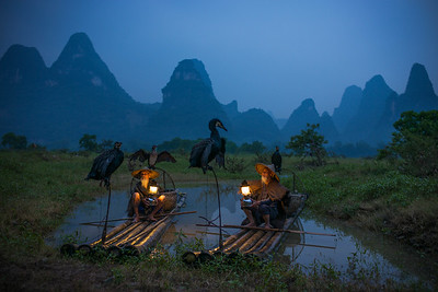 The Cormorant Fishermen of Guilin (Guangxi, China 2016)