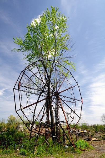 Ferris Wheel at Chippewa Lake Park