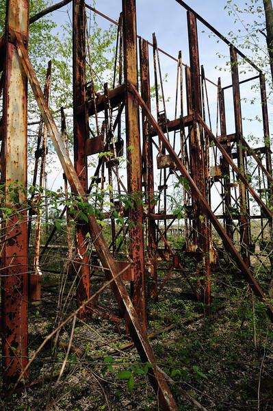 Swinging Cages - Chippewa Lake Park