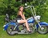 Bud Lite Girls Portraits ,  Motorcycles