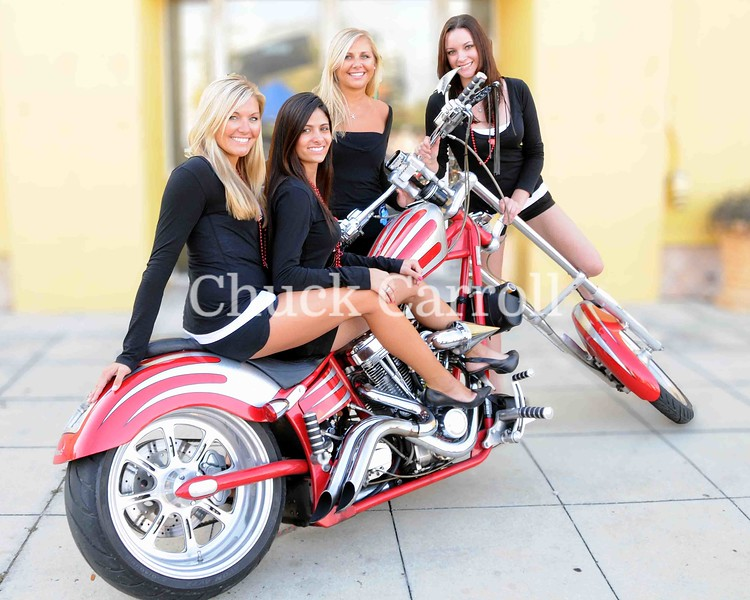 Portraits ,  Motorcycles