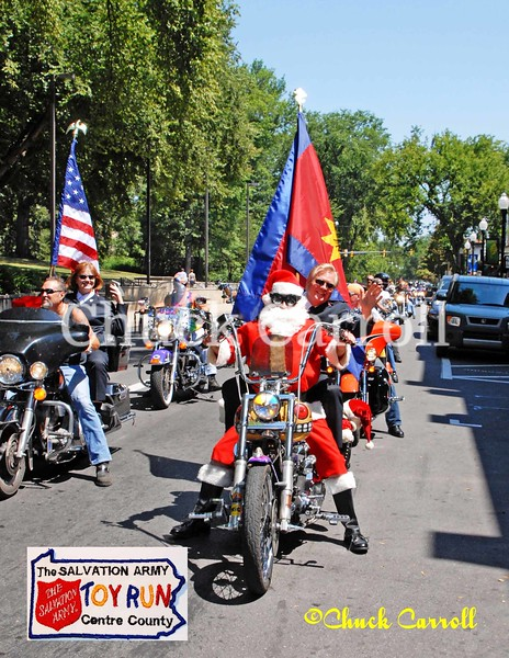 4 Salvation Army Toy Run ,  Motorcycles