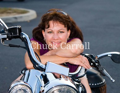 69 Carol Portraits ,  Motorcycles