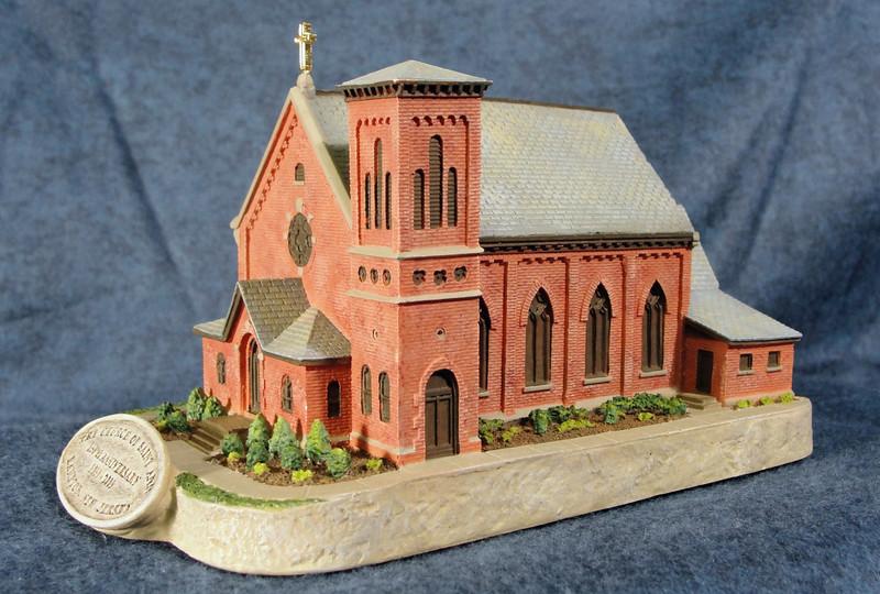 St. Ann Church - overview  3/4 shot.