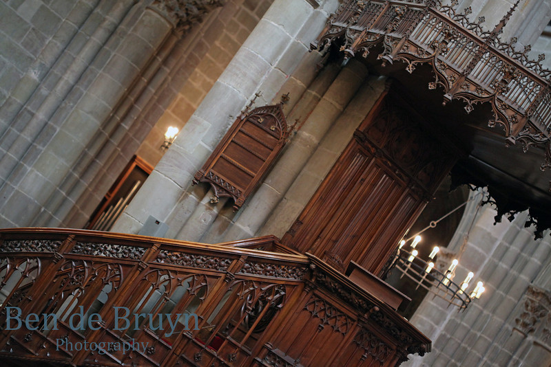 St. Pierre Cathedral pulpit