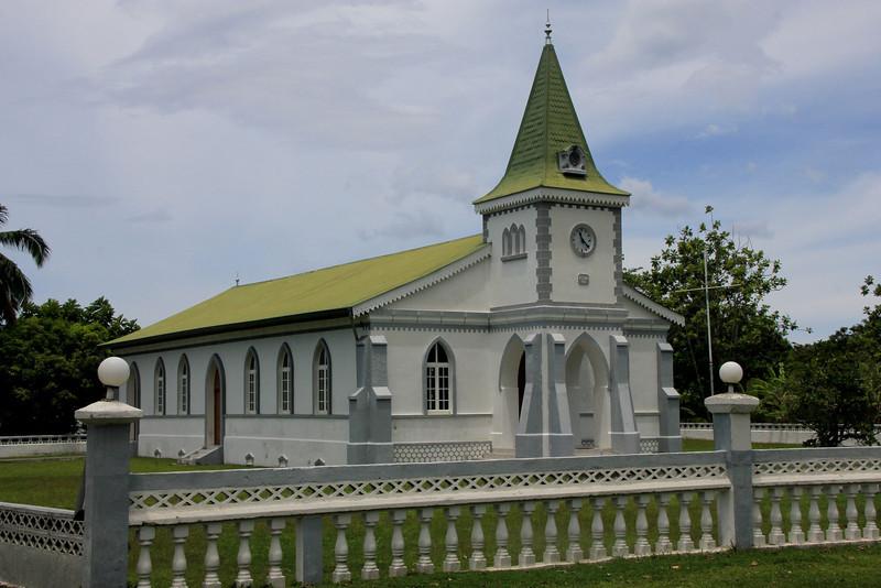 Betelamoa Church, Moorea, Tahiti.  Established 1916