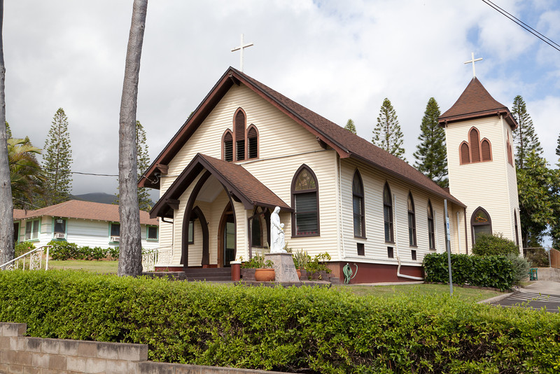 St. Ann Parish, Waihee, Maui.  Established 1935