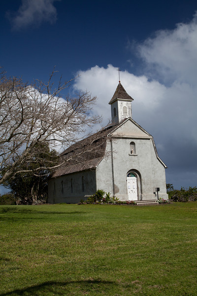 St. Joseph Catholic Church, Kaupo, Maui.  Established 1862