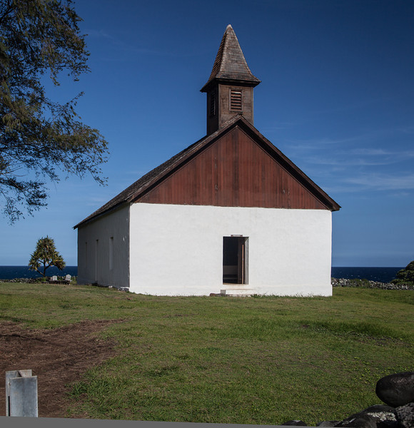 Huialoha, Church, Kaupo, Maui<br /> Behind locked gate.<br /> Now under renovation
