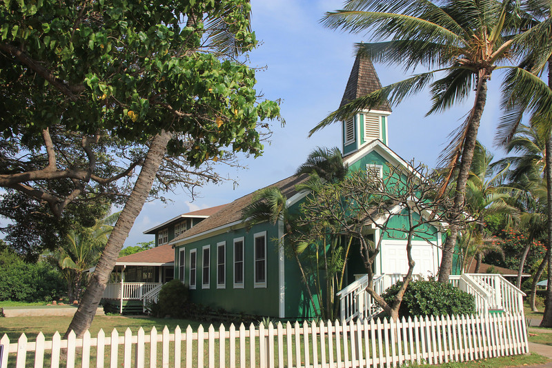 Keolahou Congregational Hawaiian Church, Kihei, Maui, Hawaii.  Established 1920
