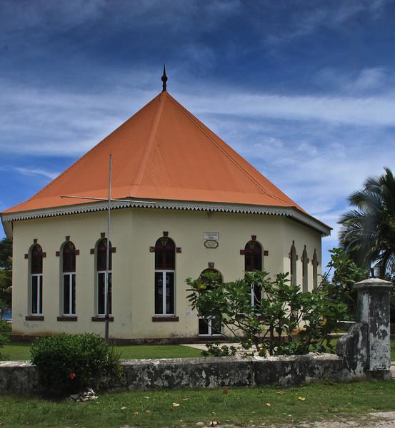 Par La Paroisse Protestante De Papetoai Church, Moorea, <br /> Established 1887-1891