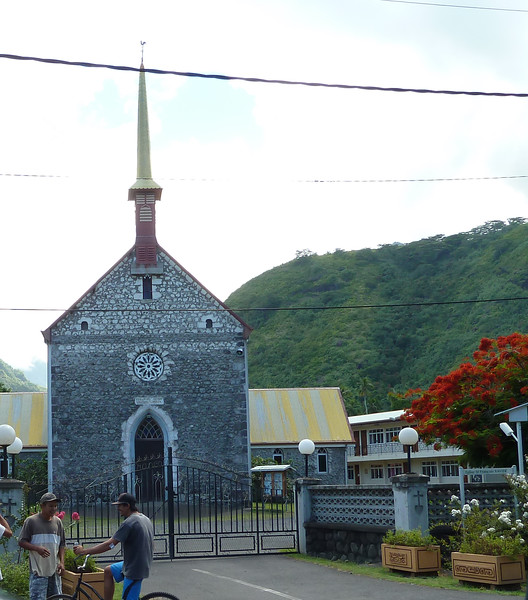 Papeete, Capital of French Polynesia, Island of Tahiti