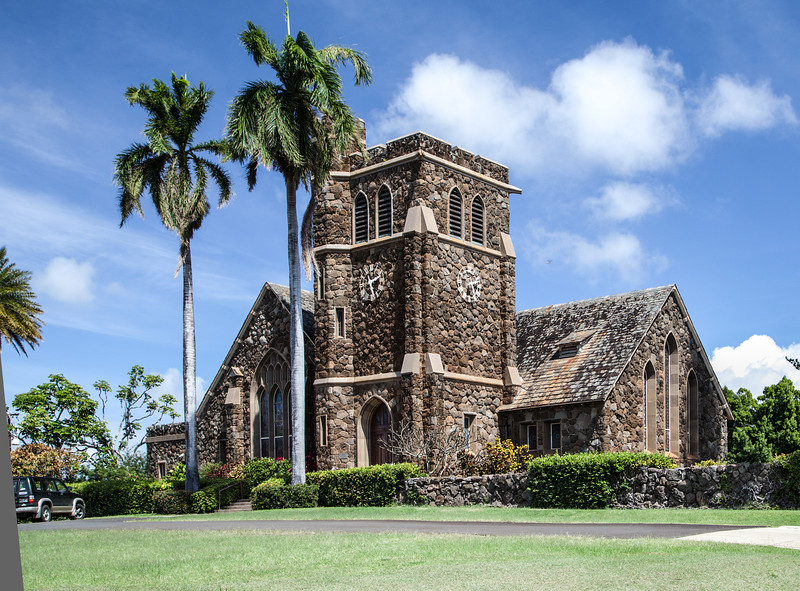 Makawo Union Church, Makawo, Maui.   Established 1917