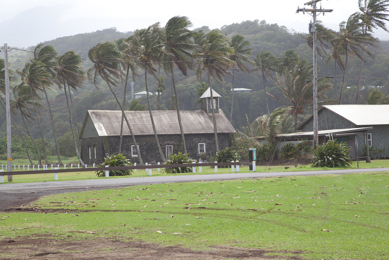 Lanakila Church, Keanae Congregational Church, Keanae Peninsula, East Maui  Est. 1860