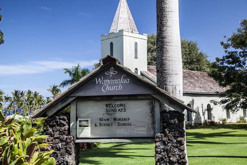 Wananalua Congregational Church, Founded 1838