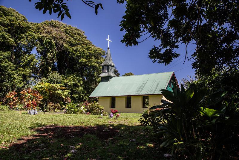Nahiku Church, East Coast of Maui.