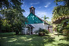 Palapala Ho'omau Congregational Church, Kipahulu, Maui<br /> Founded 1857<br /> Site of Charles Lindbergh's Grave