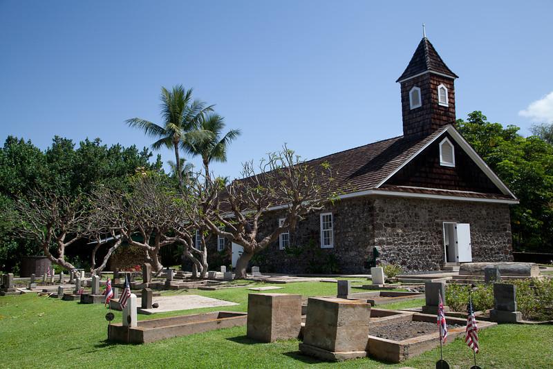 Keawala'i Congregational Church, Wailea, Maui.  Established 1832
